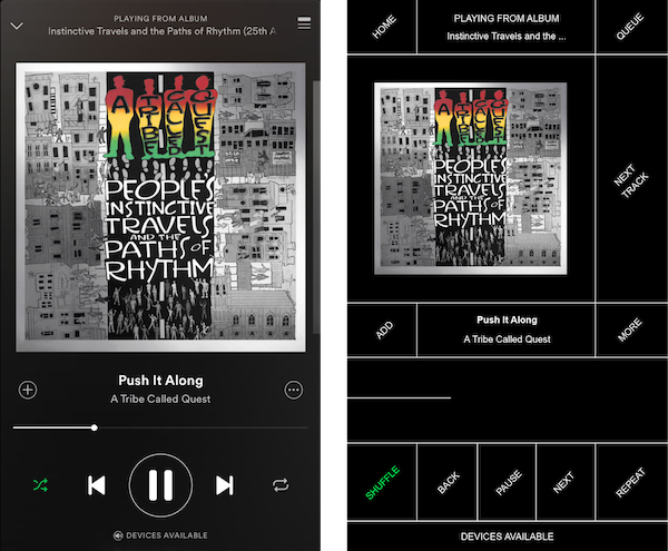 Brutalist-redesign_Spotify