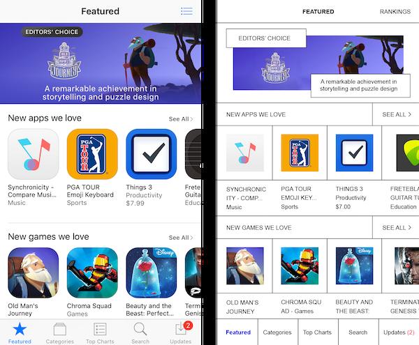 Brutalist-redesign_Apple App Store